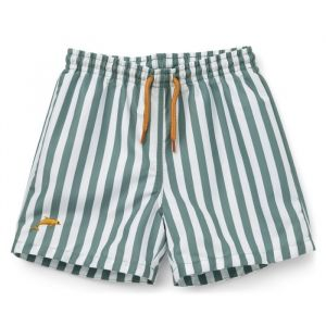 Zwembroek Duke Stripe peppermint/white Liewood