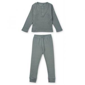 Pyjama Wilhelm Blue fog (maat 104) Liewood