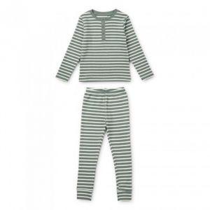 Pyjama Wilhelm Stripe Stripe Blue fog/sandy Liewood