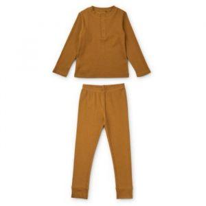 Pyjama Wilhelm Golden caramel (maat 104) Liewood