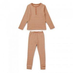 Pyjama Wilhelm Stripe Tuscany rose/sandy Liewood
