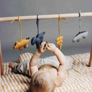 Babygym speeltjes Gio Dino mix (4st) Liewood