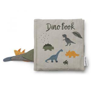 Activiteitenboekje Dennis Dino dove blue mix Liewood