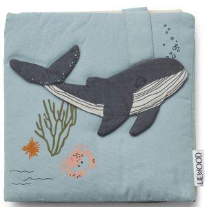 Activiteitenboekje Sammy Sea Creature blue mix Liewood