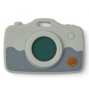 Siliconen speelgoedcamera Steven Sea Creature blue Liewood