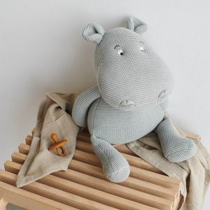 Knuffel Bo Hippo dove blue Liewood