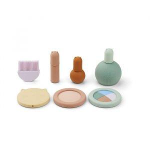 Siliconen make-up set multi mix Liewood