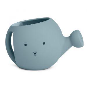 Siliconen gieter Lyon Rabbit sea blue Liewood