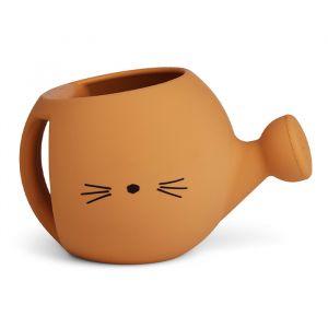 Siliconen gieter Lyon Cat mustard Liewood