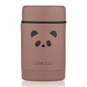 Food jar Nadja Panda dark rose Liewood