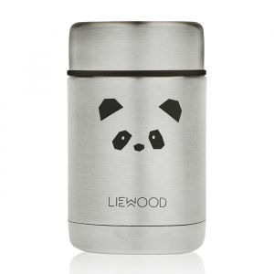 Food jar Nadja Panda stainless steel Liewood