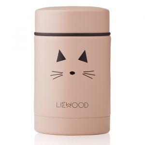 Food jar Nadja Cat rose (250ml) Liewood