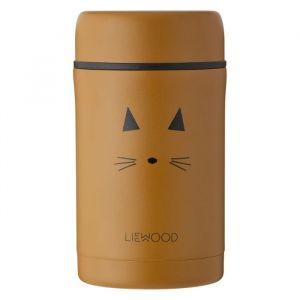 Food jar Bernard Cat mustard (500ml) Liewood