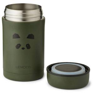 Food jar Bernard Panda hunter green (500ml) Liewood