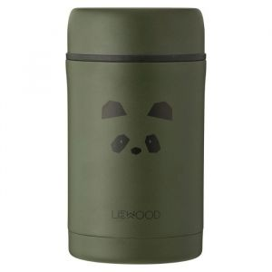 Food jar Bernard Panda hunter green (500ml) Liewood