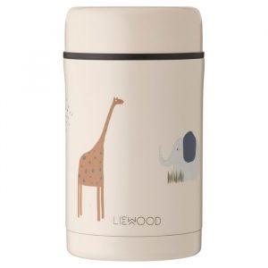 Food jar Bernard Safari sandy mix (500ml) Liewood