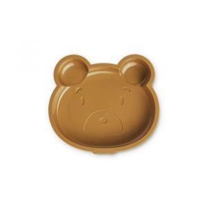 Siliconen cakevorm Amory Mr bear golden caramel Liewood