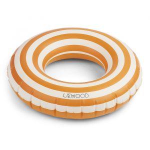 Zwemband Baloo Stripe mustard/creme Liewood