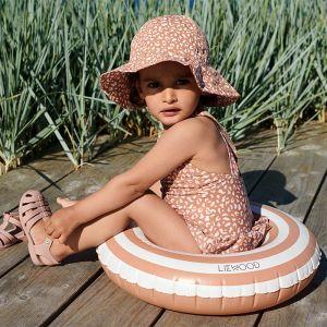 Zwemband Baloo Stripe rose/creme Liewood