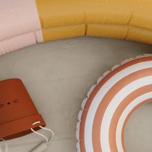 Zwembad Leonore Stripe peach/sandy/yellow (80cm) Liewood