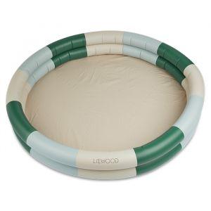 Zwembad Savannah Stripe green/sandy/blue (150cm) Liewood