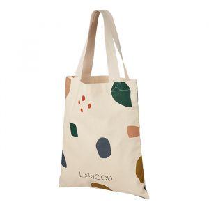 Liewood shopper Geometric foggy mix
