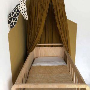 Tuck-Inn ledikantlaken 60x120cm off white Witlof for Kids
