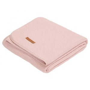 Zomerdeken wieg Pure Pink Little Dutch