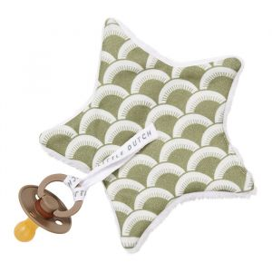 Speendoekje Sunrise Olive Little Dutch