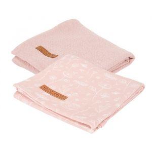 Hydrofiele doeken Wild Flowers Pink (2st) Little Dutch