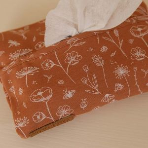 Babydoekjes cover Wild Flowers Rust Little Dutch