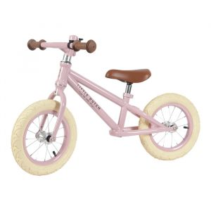 Loopfiets roze Little Dutch