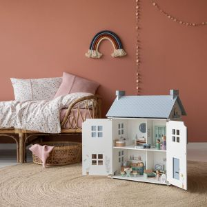 Houten poppenhuis (20-delig) Little Dutch