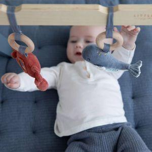 Houten babygym met speeltjes Ocean blue Little Dutch
