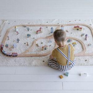 Houten treinset XXL Little Dutch