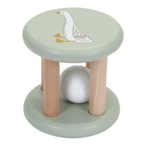 Houten rammelaar Roller Goose Little Dutch