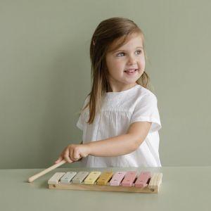 Houten xylofoon roze Little Dutch