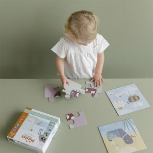 Puzzels Little Goose 4-in-1 Little Dutch