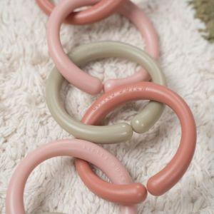 Speelringen roze Little Dutch