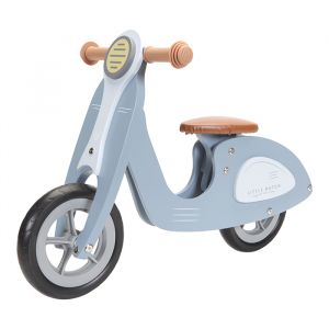 Houten loopscooter blue Little Dutch