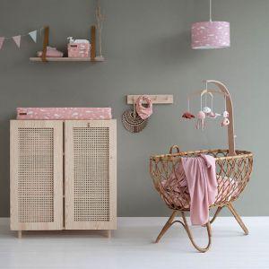Houten muziekmobiel Ocean Pink Little Dutch
