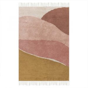 Vloerkleed Horizon Pink (130x90cm) Little Dutch