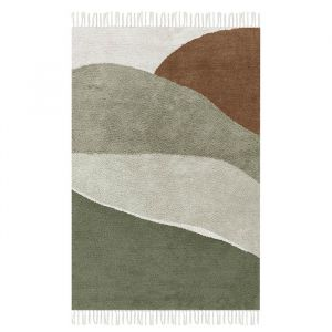 Vloerkleed Horizon Olive (130x90cm) Little Dutch