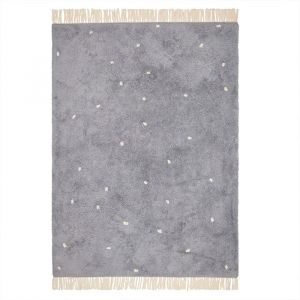Vloerkleed Dot Pure Blue (170x120cm) Little Dutch