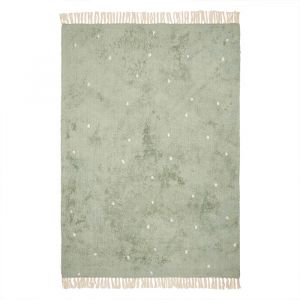 Vloerkleed Dot Pure Mint (170x120cm) Little Dutch
