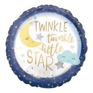 Folieballon Twinkle Little Star (40cm)