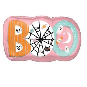 Folieballon Halloween Boo