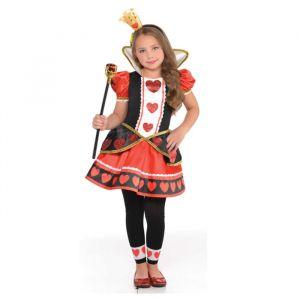 Hartenkoningin meisjes kostuum (3-4 jaar)