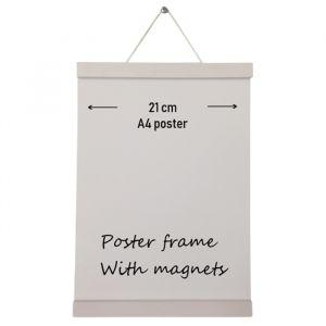 Posterhanger A4 wit