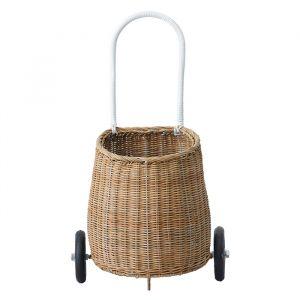Boodschappenwagentje Luggy Basket naturel Olli Ella